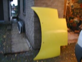 Toyota MR2 MK2 Bonnet Yellow