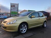 PEUGEOT 307 XSI **OCTOBER 2018 MOT** SERVICE HISTORY **CAMBELT REPLACED**