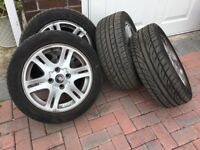Volvo v40 alloys with excellent 205 /50/16 tyres