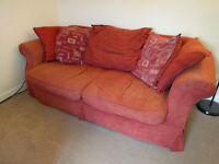 Sofa, Double Bed and Wardrobe in Central Staines - Delivery Possible