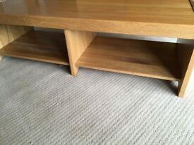 Solid Oak TV/Coffee Table