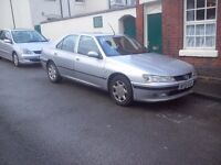 2002 PEUGEOT 406 HDI - NOVEMBER MOT, AUX STEREO, SERVICED THIS WEEK