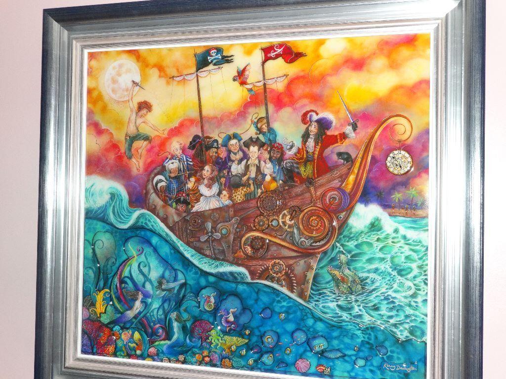 kerry darlington peter pan the pirate ship in launceston