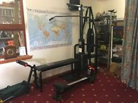 York 2001 Multi Gym and Rowing Machine