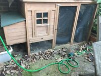 2 large Rabbit hutches for sale