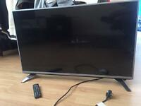 LG 43LF540V 43 Inch FULL HD LED TV Built in Freeview HD USB Playback Silver