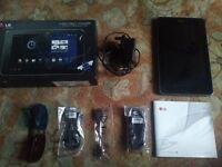 3D recording/playLG Optimus Pad V900 32GB, Wi-Fi + 3G (Unlocked), 8.9in - Black Boxed