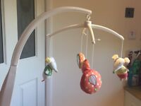 Mamas & Papas Musical Cot Mobile and Matching Light Shade