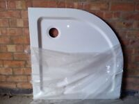Shower tray 900x900 quadrant white never been used £20