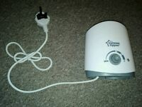 Tommee Tippee Bottle Warmer Never Used