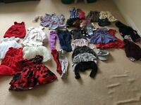Bundle of girls clothes ages 12-24 months