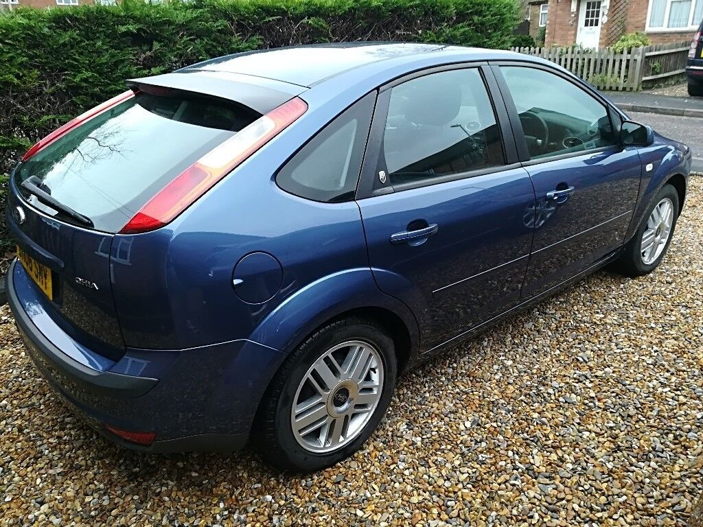 ford focus 2006 ghia 1 6 83k miles in whitehill. Black Bedroom Furniture Sets. Home Design Ideas
