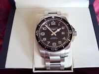 Longines Hydroconquest Automatic 41mm case. Divers watch 300bar