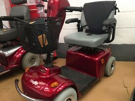 Mobility Scooter Freerider Mayfair 4mph range 25 miles very good condition with warranty