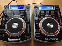 Numark Ndx 400 ndx400 cd and USB compatible (pair)
