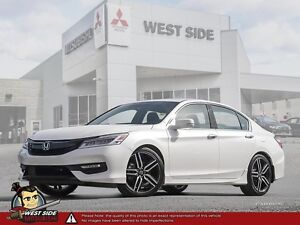 2016 Honda Accord Touring–Accident Free–One Owner–3.5L V6–