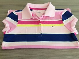 Brand New Girls Tommy Hilfiger Polo Shirt