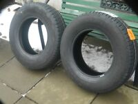 Brand new tyres for 4x4 or Transit Van