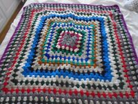 New Crochet Blanket aprox 31 inch square