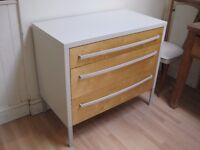 Lovely Chest of Drawers - Professionally painted in Farrow & Ball Eggshell - Lots of storage