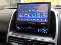 "XOMAX XM-DTSB904 ... Car Stereo 7"" touch screen + Bluetooth handsfree .. Aux .. USB"