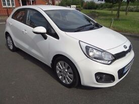 KIA RIO 1.4 CRDi EcoDynamics 2 5dr (ISG) 1 LADY OWNER FROM NEW STUNNING