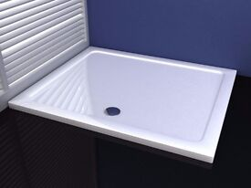 Slimline Shower Enclosure Rectangle Stone Tray A6 800 x 760 x 40 mm