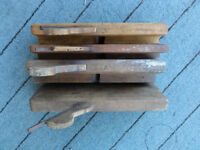 4 old Vintange Wooden Routers Collectable £35 for 4