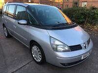 Stunning 2005 55 Renault Espace 2.0 Ltd Ed 7 Seater **2 Owners+Only 80000+History+Sat Nav**