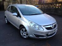 2009 59 VAUXHALL CORSA 1.3 CDTI ECO FLEX ACTIVE DIESEL LONG MOT 2 KEYS!