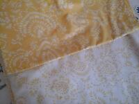 Set of two matching single duvet covers plus pillowcases