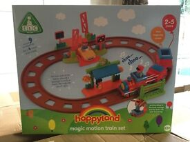 Happyland magic motion train set