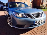 *12 MONTHS WARRANTY*2009(09)SAAB 9-3 2.0 TURBO VECTOR SPORTS CONVERTIBLE WITH 12 MONTHS MOT*