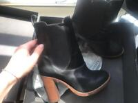Whistles leather heeled boots