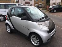 SMART CAR FORTWO PASSION 1.0 TURBO SEMI-AUTO (HEATED SEATS, PANORAMIC ROOF, SILVER)