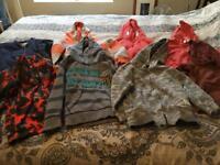 Boys hoodie / jumper bundle age 4/5 x8