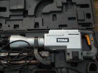 Titan 15.5kg hex shank breaker