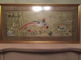 Large oriental tapestry