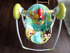 baby swing and nursing rocking chair& stool and mother care high chair