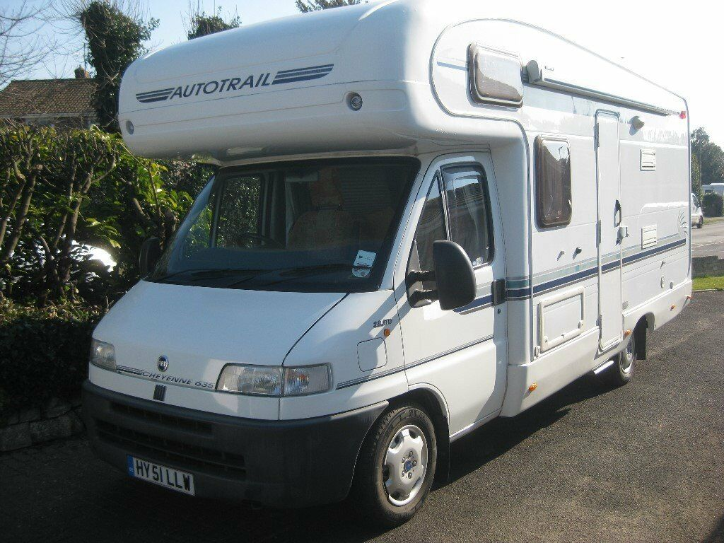 2002 autotrail cheyenne 635. one owner from new. 2002 manual 2.8