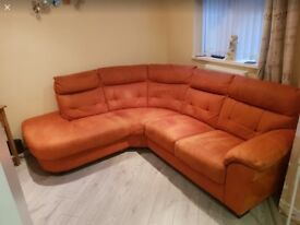Corner sofa 18 months. Old from dfs