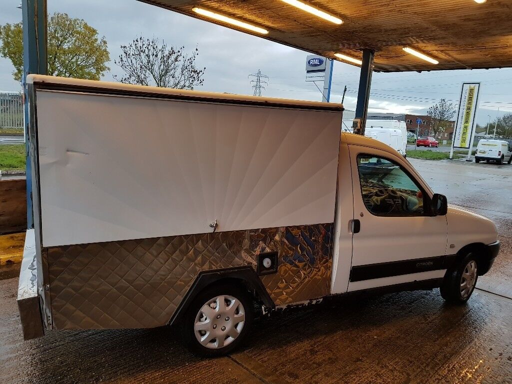 Citroen berlingo jiffy truck hot and cold catering