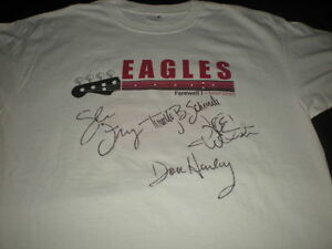 Autographed Items for Sale - Eagles, Elton, Boston, Neil Diamond