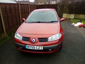 Renault Megane 1.6 VVT Dynamique 55 Plate