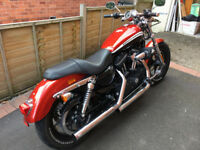 Sportster 1200 XL CA Ltd Edition, low mileage, very good condition, MOT to June 2018