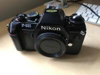 Nikon f301 (film) SLR Camera