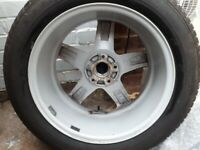 Wolfrace alloy wheels and tryes