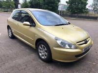 Peugeot 307 2.0 HDi Rapier 3dr (DIESEL) (12 MONTHS MOT) 2001