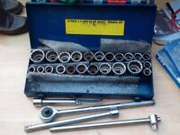 "2"" socket set - 27 piece"