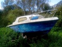 18ft boat project FREE to whoever collects!
